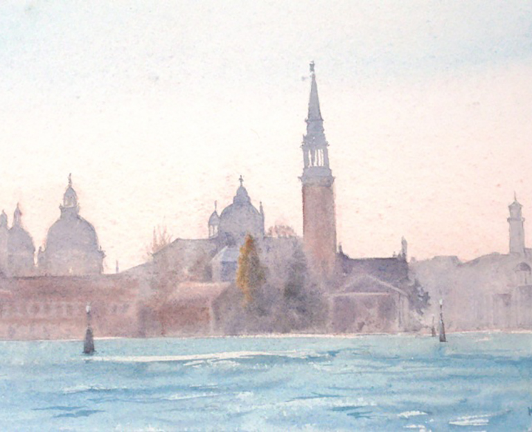 Venice from the Lagoon